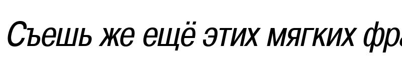 Preview of A1011Helvetika  TYGRA Condensed