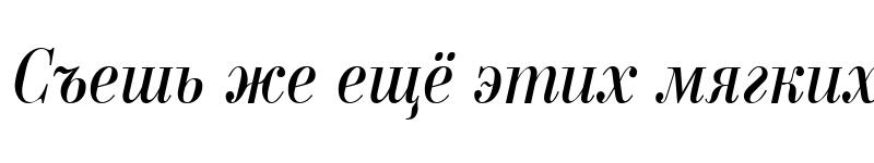 Preview of a_BodoniNovaNr Italic