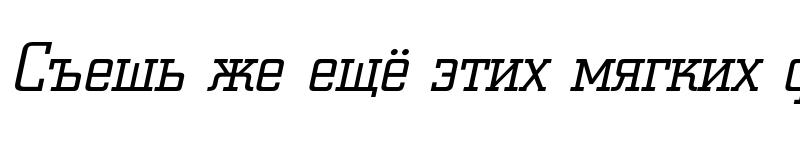 Preview of a_CityNovaLt Italic