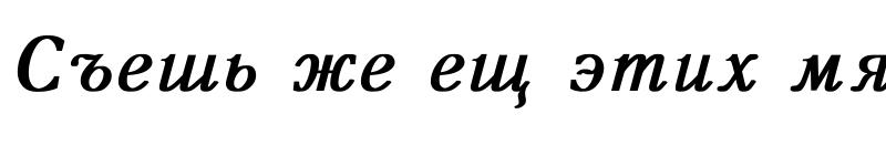 Preview of Antiqua Bold Italic