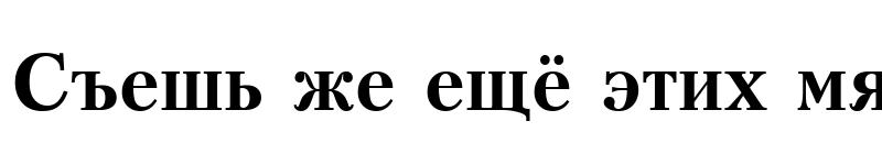Preview of KudrashovC Bold