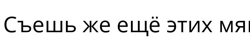 Preview of Open Sans Regular